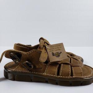 Dr. Martens Shoes - Dr. Marten JUNIORS sz 2 Air Wair fisherman sandals